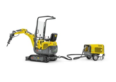2400lbs 5′ 9″ Dig Depth Mini Excavator