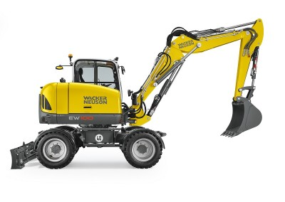 21,500lbs 13′ Dig Depth Wheel Excavator